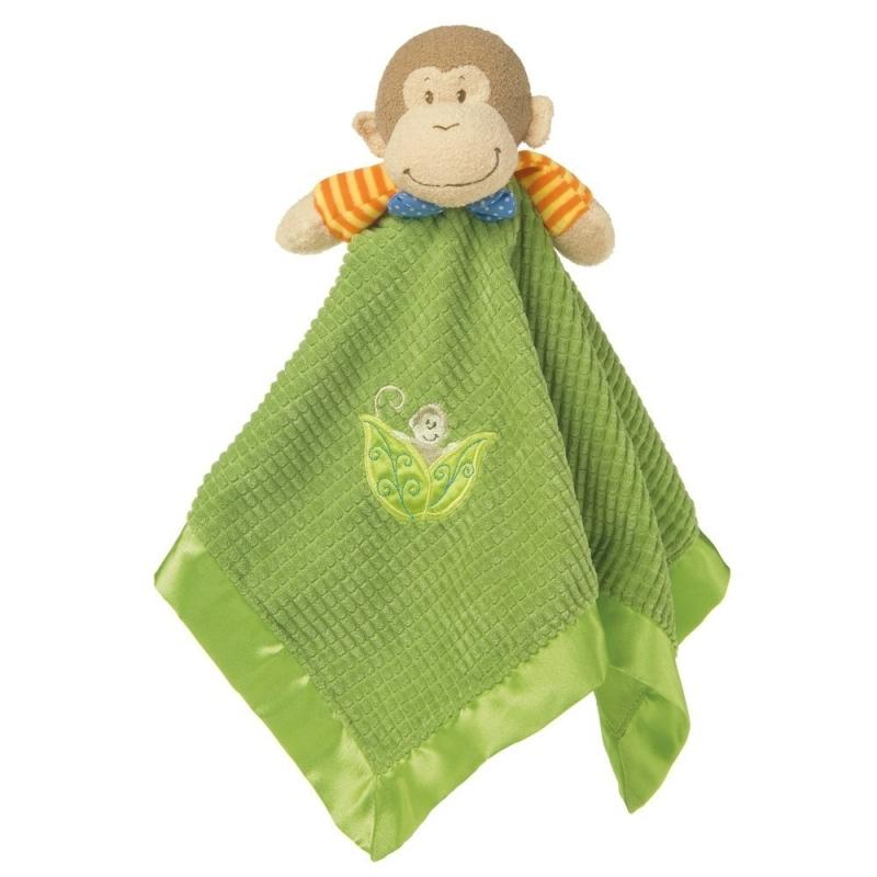 Mary Meyer Mango Monkey Baby Blanket