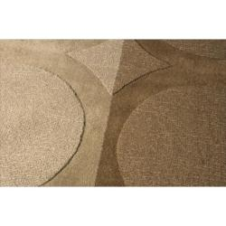 Nourison Hand-tufted Panache Chocolate Wool Rug (9'6 x 13')