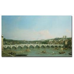 Canaletto 'Westminster Bridge' Canvas Art