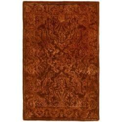 Safavieh Handmade Silk Road Rust New Zealand Wool Rug (2' x 3')