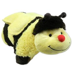 My Pillow Pets 18-inch Black/ Yellow Buzzy Bumble Bee Animal Toy - Thumbnail 0
