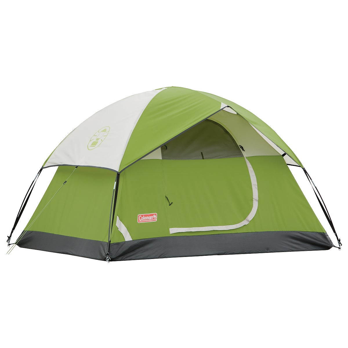 Coleman Sundome Green Single-door Two-person Tent (48' x 5' x 7')