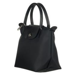 d4ffdb00ae Shop Longchamp Mini 'Planetes' Black Nylon Tote Bag - Free Shipping ...