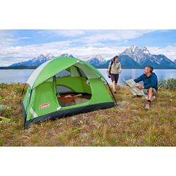 Coleman Sundome Green Single-door Two-person Tent (48' x 5' x 7') - Thumbnail 2