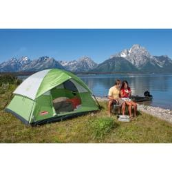 Coleman Sundome Green 4-person Tent