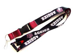 Texas A&M Aggies Reversible Clip Lanyard Keychain ID Ticket Holder - Thumbnail 2