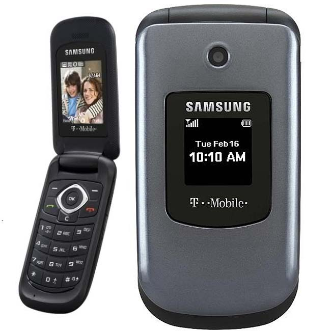 Samsung T139 Unlocked Grey Cell Phone (Refurbished)