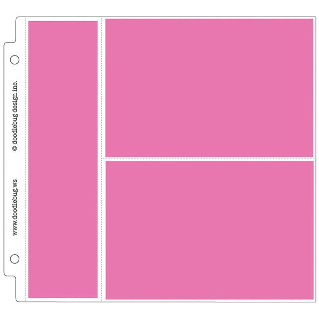 Doodlebug Photo/Recipe Card Protectors (Pack of 25)