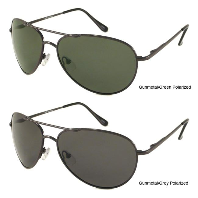 Urban Eyes Men's Polarized Aviator Sunglasses