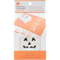 Martha Stewart 'All Over The Page Jack-O-Lanterns' Punch