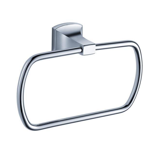 Kraus Fortis Bathroom Accessories Square Towel Ring