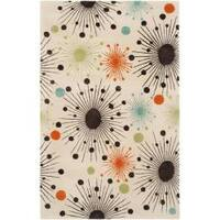 Safavieh Handmade Cosmos Ivory New Zealand Wool Rug - 5'x 8'