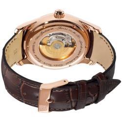 Frederique Constant Men's 'Clear Vision Automatic' Leather Strap Watch - Thumbnail 1