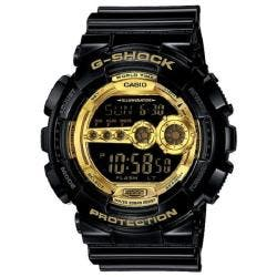 Casio Men's 'G-Shock' Black/Gold Stainless Steel Watch|https://ak1.ostkcdn.com/images/products/77/395/P13829206.jpg?impolicy=medium