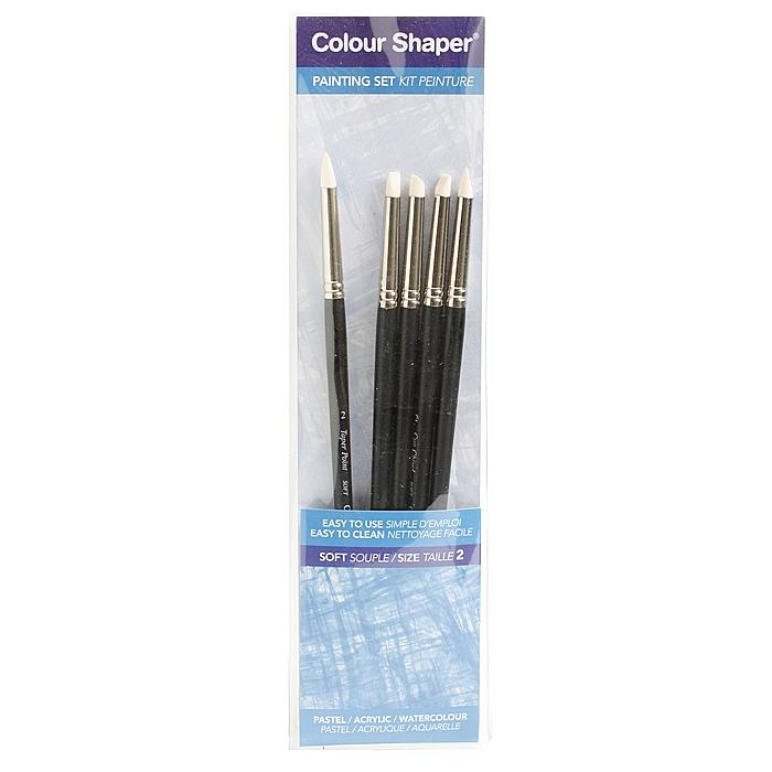 Colour Shaper MediumWood-Handle Paint- and Pastel-Blending Tools (Set of Five)