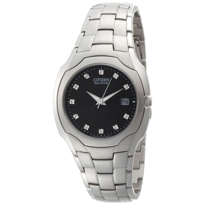 Citizen Men's BM6010-55G Eco Drive Stainless Steel Watch