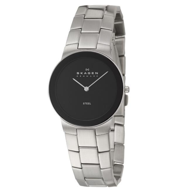 Skagen Men's 'Modern' Stainless Steel Quartz Watch