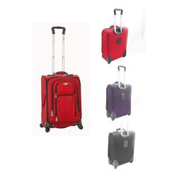 Rockland 20-inch Spinner Multidirectional Upright Carry-on Luggage - Thumbnail 1
