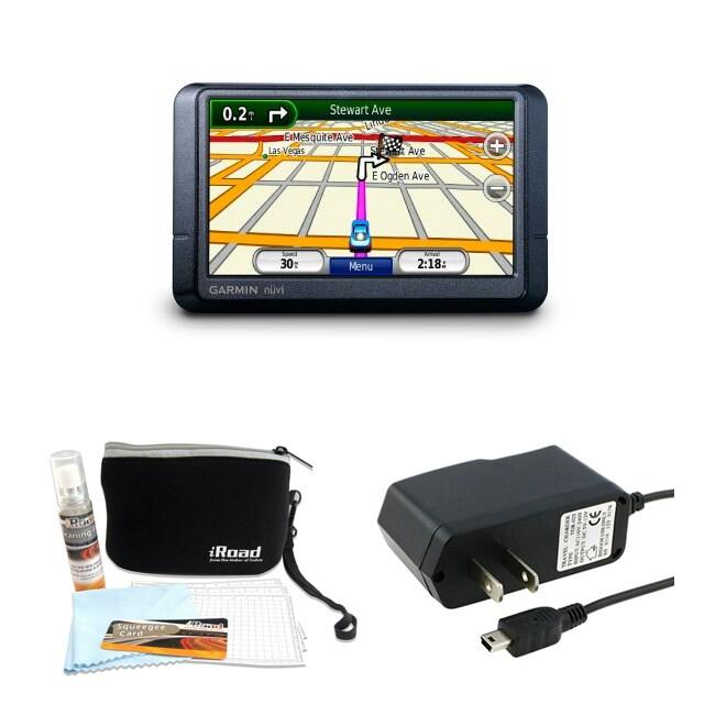 Garmin nuvi 255W 4 3-inch GPS Navigator with Kit (Refurbished)