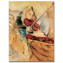 Joarez 'Amazing Touch' Gallery-Wrapped Canvas Art