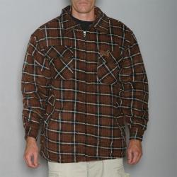 Stillwater Supply Co. Men's Sherpa Lined Flannel Shirt