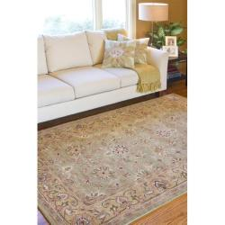 Hand-tufted Lex ington Wool Rug (7'6 x 9'6)