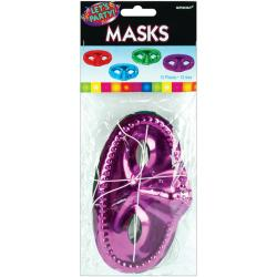 Amscan Half Masks (Pack of 12)
