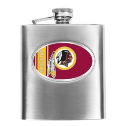 Washington Redskins 8-oz Stainless Steel Hip Flask