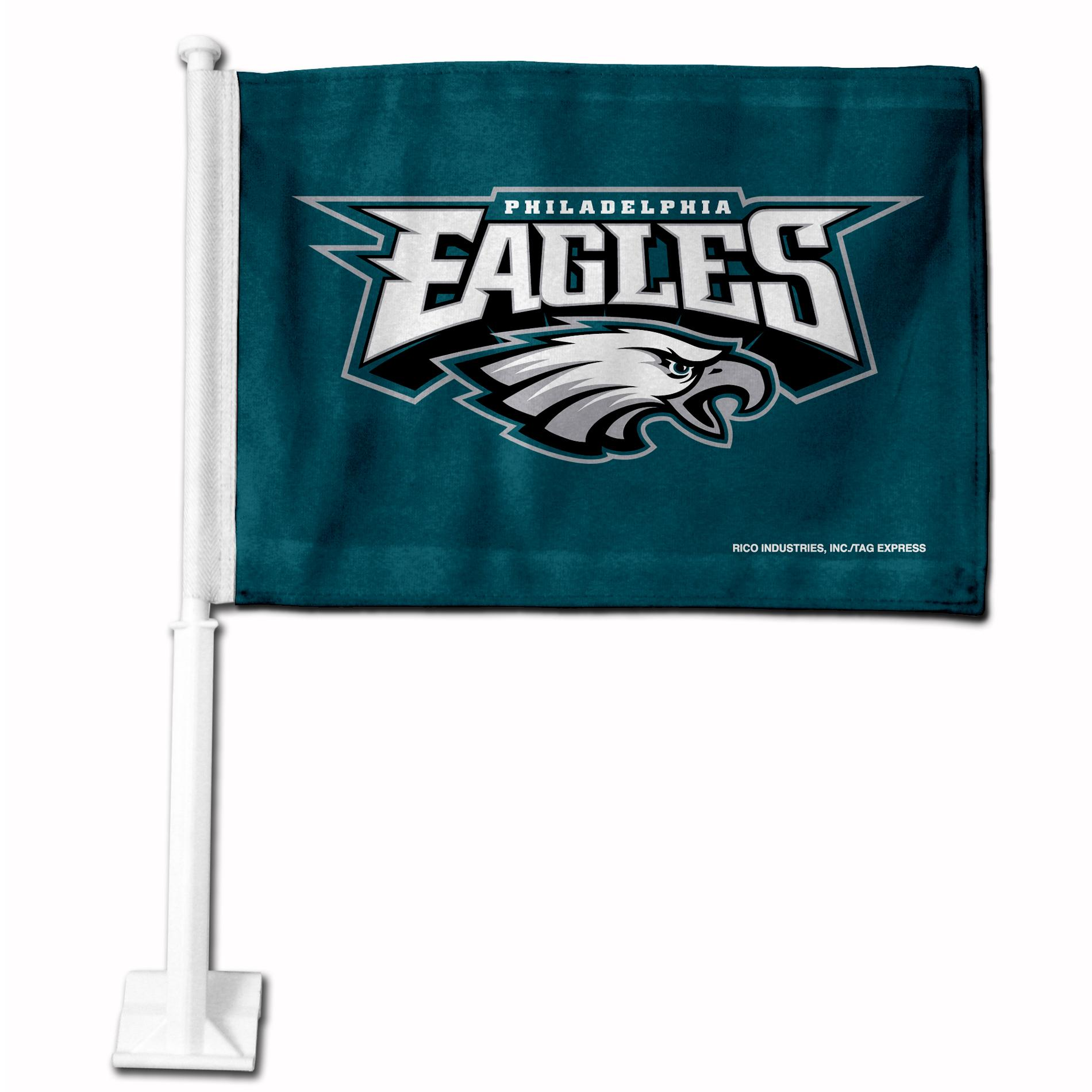 Philadelphia Eagles 19-inch Car Flag