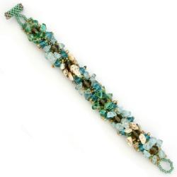 Glass Bead Isabela Surfside Bracelet (Guatemala) - Thumbnail 1