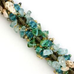 Glass Bead Isabela Surfside Bracelet (Guatemala) - Thumbnail 2