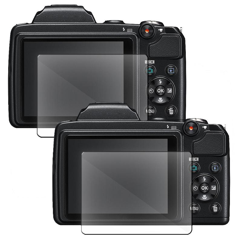 Screen Protector for Nikon L120 (Pack of 2)