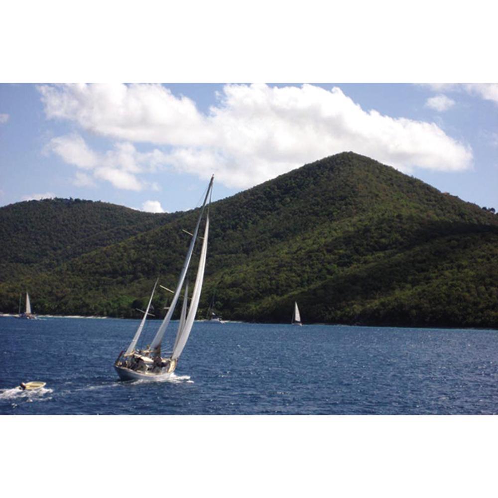 Freddi Betts 'Sailing Tortola' Gallery-wrapped Canvas Art