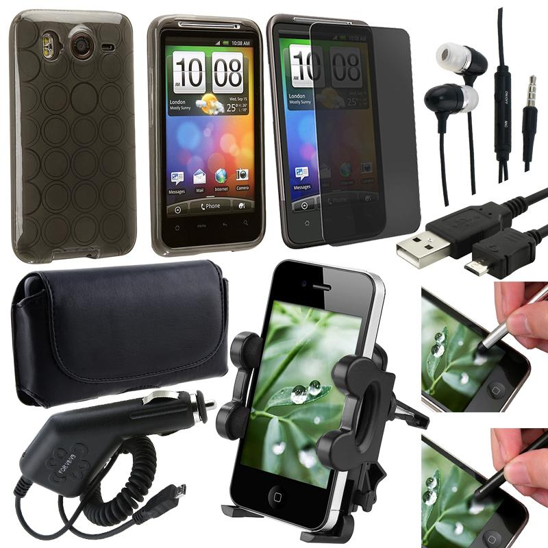 Case/ Protector/ Charger/ Headset/ Holder/ Cable for HTC Inspire 4G