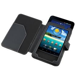 Leather Case/ Screen Protector for Samsung Galaxy Tab P1000 - Thumbnail 2