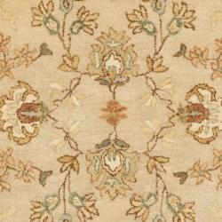 Safavieh Handmade Farahan Ivory/ Light Grey Hand-spun Wool Rug (3' x 5') - Thumbnail 2