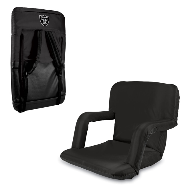 Black Oakland Raiders Ventura Seat