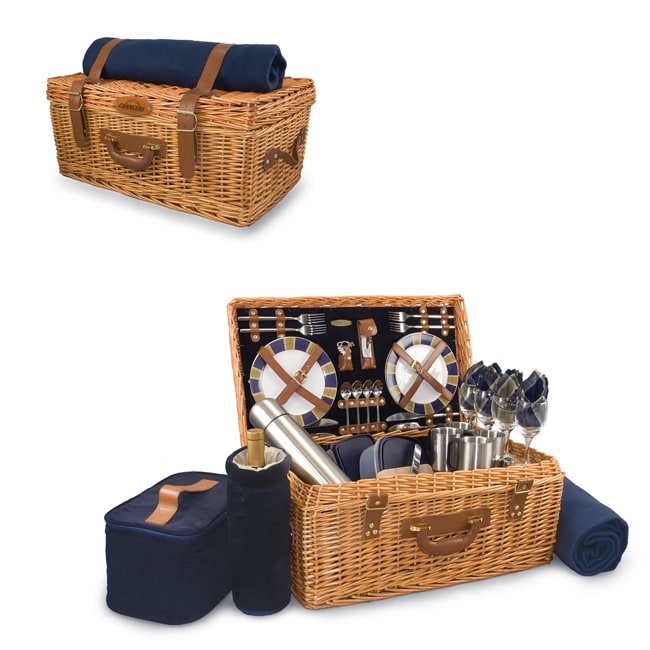 Picnic Time Navy San Diego Chargers Windsor Picnic Basket