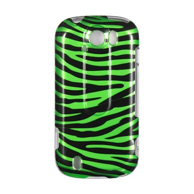 Premium HTC myTouch 4G Slide Green Zebra Protector Case