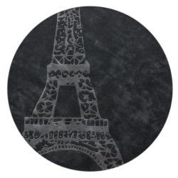 nuLOOM Handmade Deco Kids Eiffel Tower Rug (6' Round)