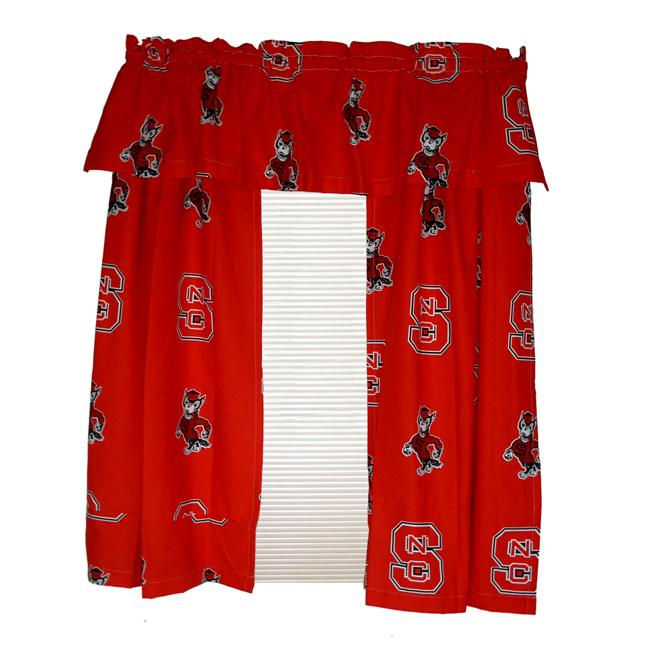 North Carolina State University Wolfpack 84-inch Curtain Panel Pair