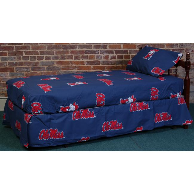 University of Mississippi Rebels Sheet Set