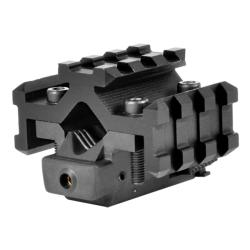 NcStar Tactical Red Laser Sight with Universal Tri-rail Barrel Mount - Thumbnail 0