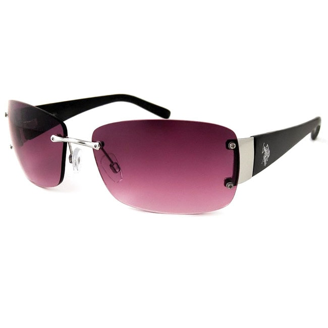 US Polo Association Scottsdale Silver and Black Sunglasses