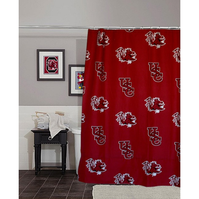 South Carolina University Gamecocks Shower Curtain