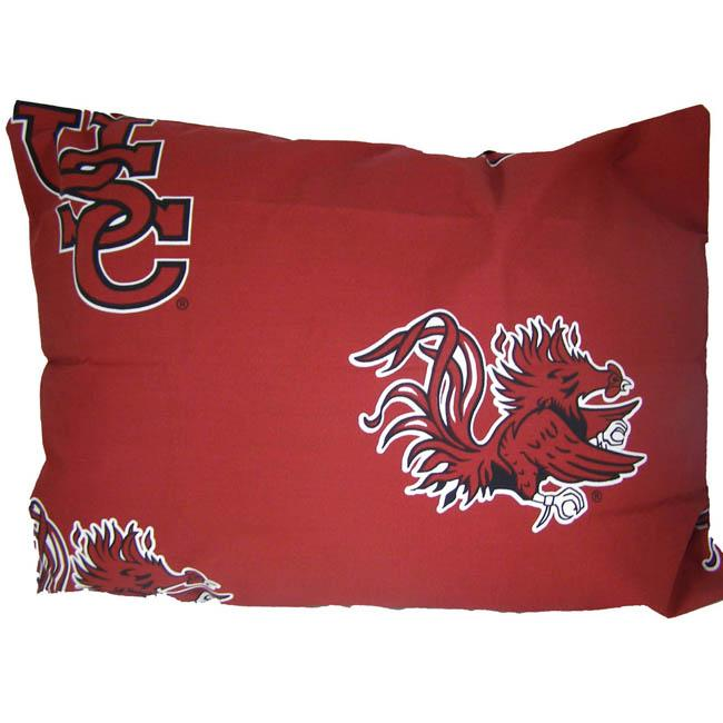South Carolina University Gamecocks King-size Pillowcase