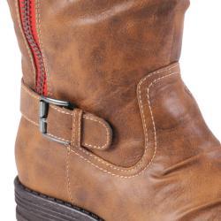Madden Girl by Steve Madden Women's 'Zandora' Zippered Mid-calf Boots - Thumbnail 2