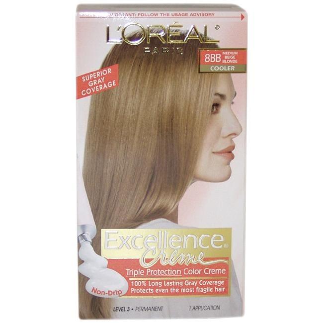 L Oreal Pro Keratine 8bb Medium Beige Blonde Cooler Hair