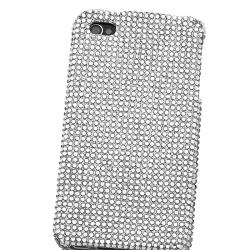 Silver Diamond Snap-on Case for Apple iPhone 4 - Thumbnail 2