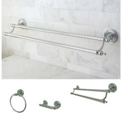 Chrome 3-piece Bathroom Accessory Set